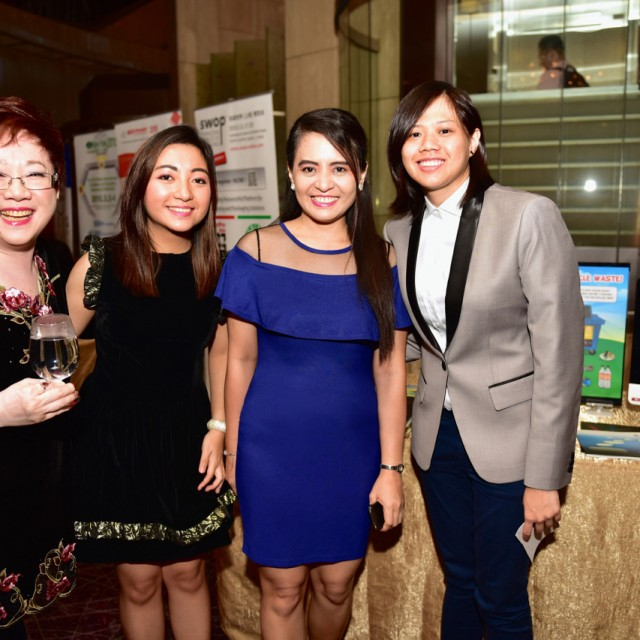 At the SMF Gala Dinner 2015